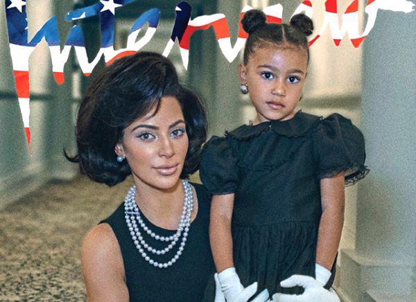 Мечты сбываются: Ким Кардашьян позирует с дочерью Норт (ФОТО)