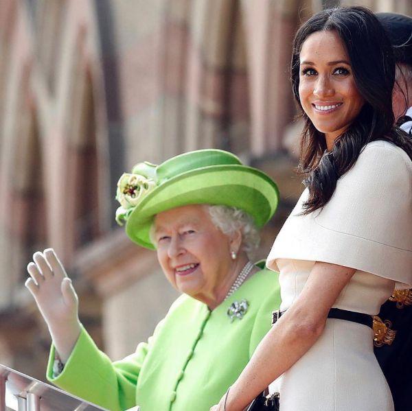 Елизавета II поздравила Меган Маркл с днем рождения
