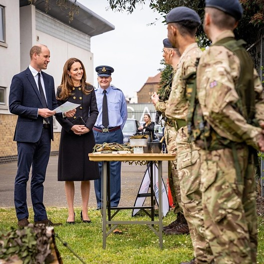 Новый выход: Кейт Миддлтон и принц Уильям вернулись к работе после похорон принца Филиппа