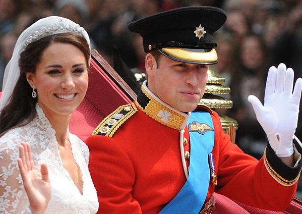 За день до годовщины: Веселые моменты со свадьбы Кейт Миддлтон и принца Уильяма