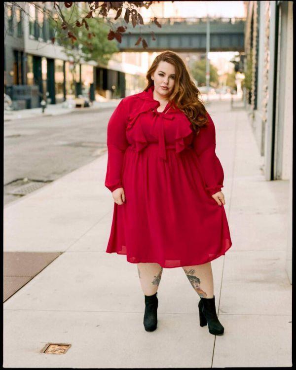 Крупнейшая в мире модель plus size Тесс Холлидей: «У меня анорексия»